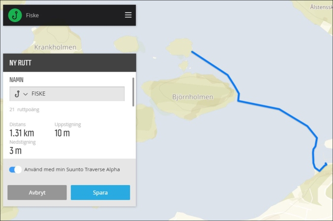 Suunto_Traverse_Alpha_planned_route_fishing